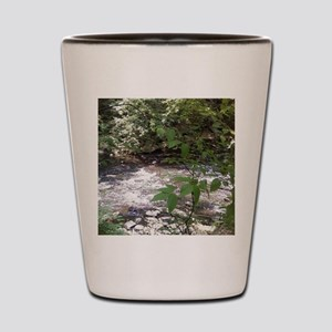 Waterfall run off Shot Glass