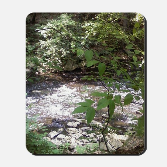 Waterfall run off Mousepad