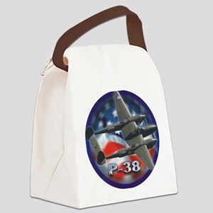 p38 3 Canvas Lunch Bag
