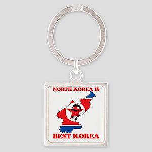 korea_2 Square Keychain