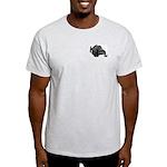 KawasakiTrax Snowmobile Club Ash Grey T-Shirt