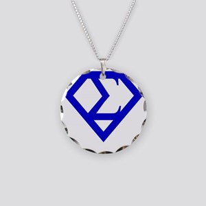 2-supersigma Necklace Circle Charm