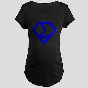 2-supersigma Maternity Dark T-Shirt