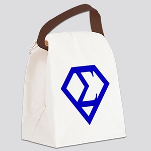 2-supersigma Canvas Lunch Bag