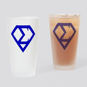 2-supersigma Drinking Glass