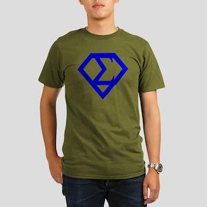 2-supersigma Organic Men's T-Shirt (dark)