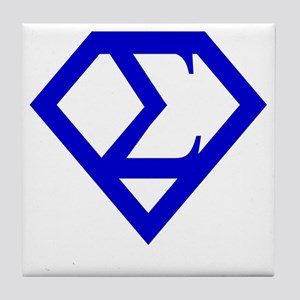 2-supersigma Tile Coaster