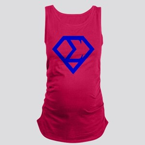 2-supersigma Maternity Tank Top