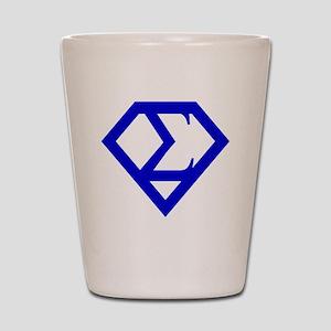 2-supersigma Shot Glass