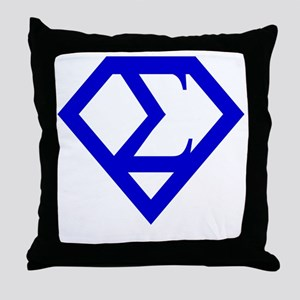 2-supersigma Throw Pillow