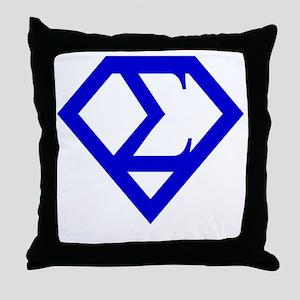 2-supersigma Throw Pillow