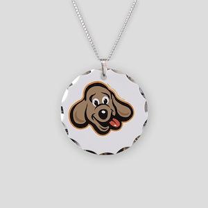 dog-like-best Necklace Circle Charm