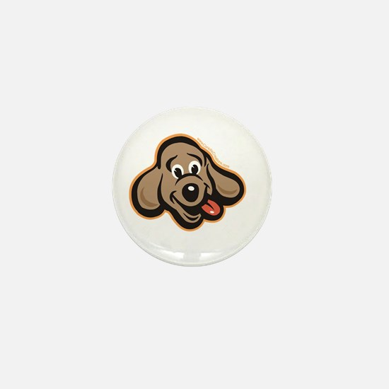 dog-like-best Mini Button