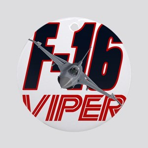 2-viper_front Round Ornament