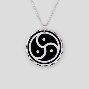 Basic BDSM Image Necklace Circle Charm