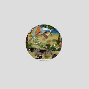 8485_dog_cartoon Mini Button