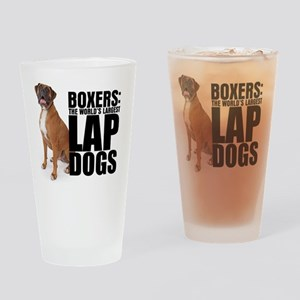lapdog Drinking Glass