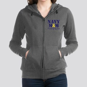 Navy Mom Proud Son Sweatshirt