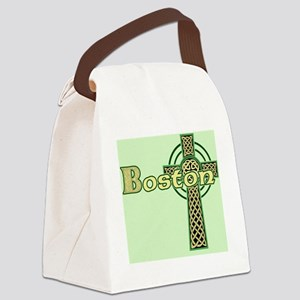 boston-celtic-cross-pillow Canvas Lunch Bag