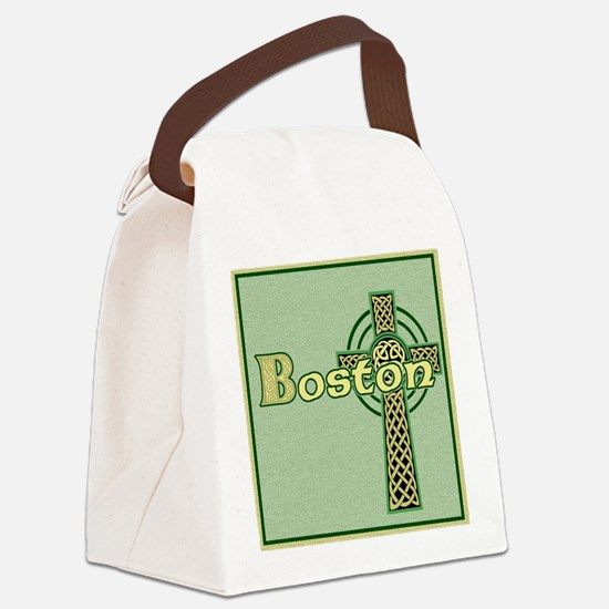 boston-celtic-tile Canvas Lunch Bag