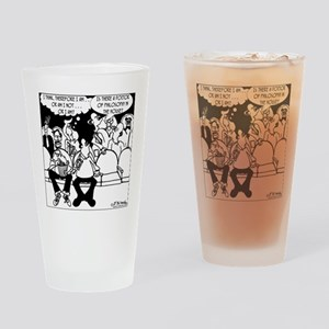 7291_religion_cartoon Drinking Glass
