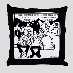 7291_religion_cartoon Throw Pillow