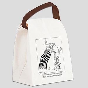 5637_history_cartoon Canvas Lunch Bag