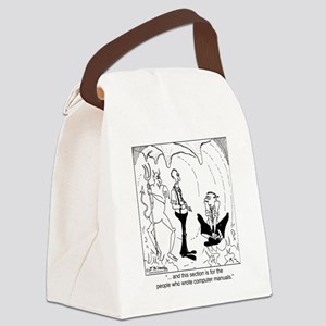 5366_computer_cartoon_TWZ Canvas Lunch Bag