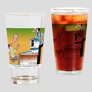 5160_computer_virus_toon Drinking Glass