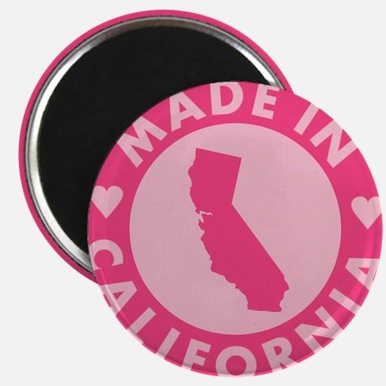 Pink-Made-In-Califotnia2 Magnet