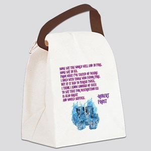 bella-quote Canvas Lunch Bag
