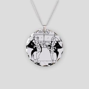 3440_history_cartoon Necklace Circle Charm