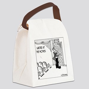 4565_philosophy_cartoon Canvas Lunch Bag
