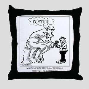 2320_art_cartoon Throw Pillow