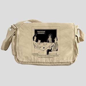 2863_computer_cartoon_TWZ Messenger Bag