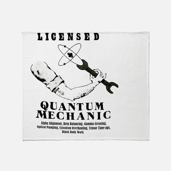 Quantum Throw Blanket