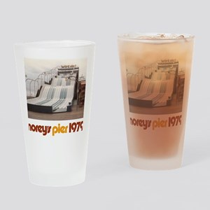 moreys-pier-wipeout-1979 Drinking Glass
