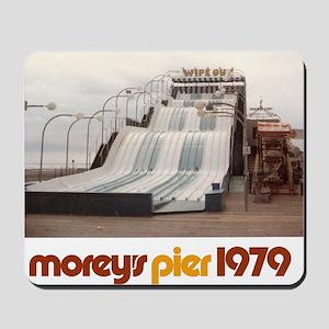 moreys-pier-wipeout-1979 Mousepad