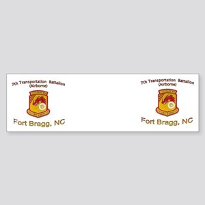 7th Transportation Bn Mug Sticker (Bumper)