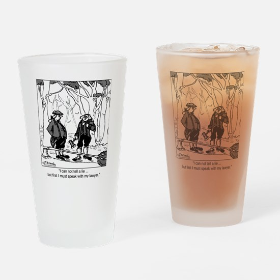 2078_history_cartoon Drinking Glass