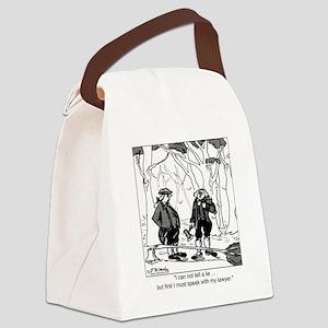 2078_history_cartoon Canvas Lunch Bag