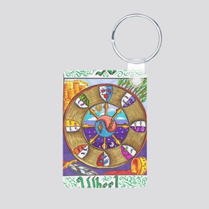 wheel of fortune Aluminum Photo Keychain