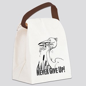 Dont Give Up2 Canvas Lunch Bag
