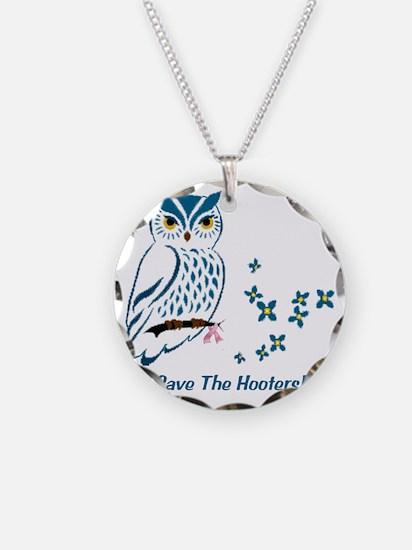 2-owl blueowl_bluets Necklace