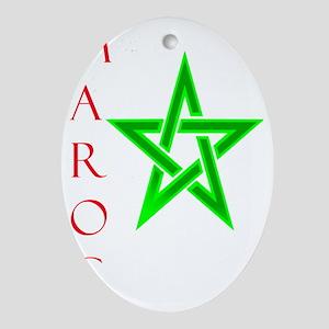 Represent Oval Ornament