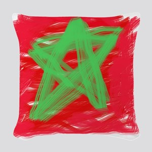 MAROC BY KIDS Woven Throw Pillow