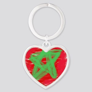 MAROC BY KIDS Heart Keychain