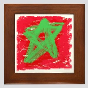 MAROC BY KIDS Framed Tile