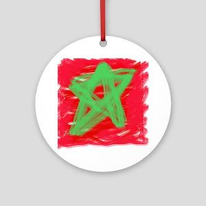 MAROC BY KIDS Round Ornament