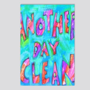 day clean Postcards (Package of 8)
